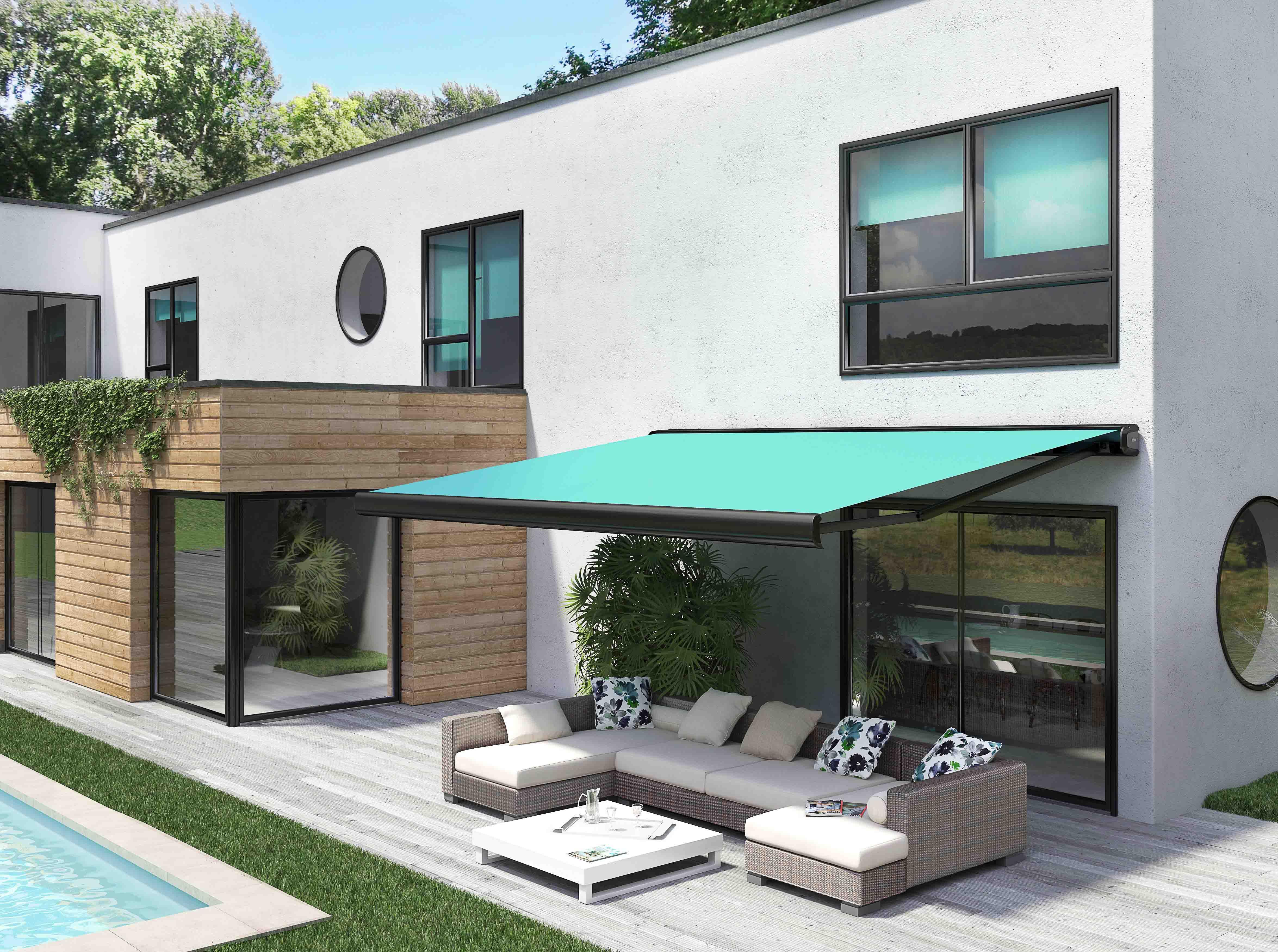 Les stores de terrasse de la société Franciaflex disposent du label Origine France Garantie.