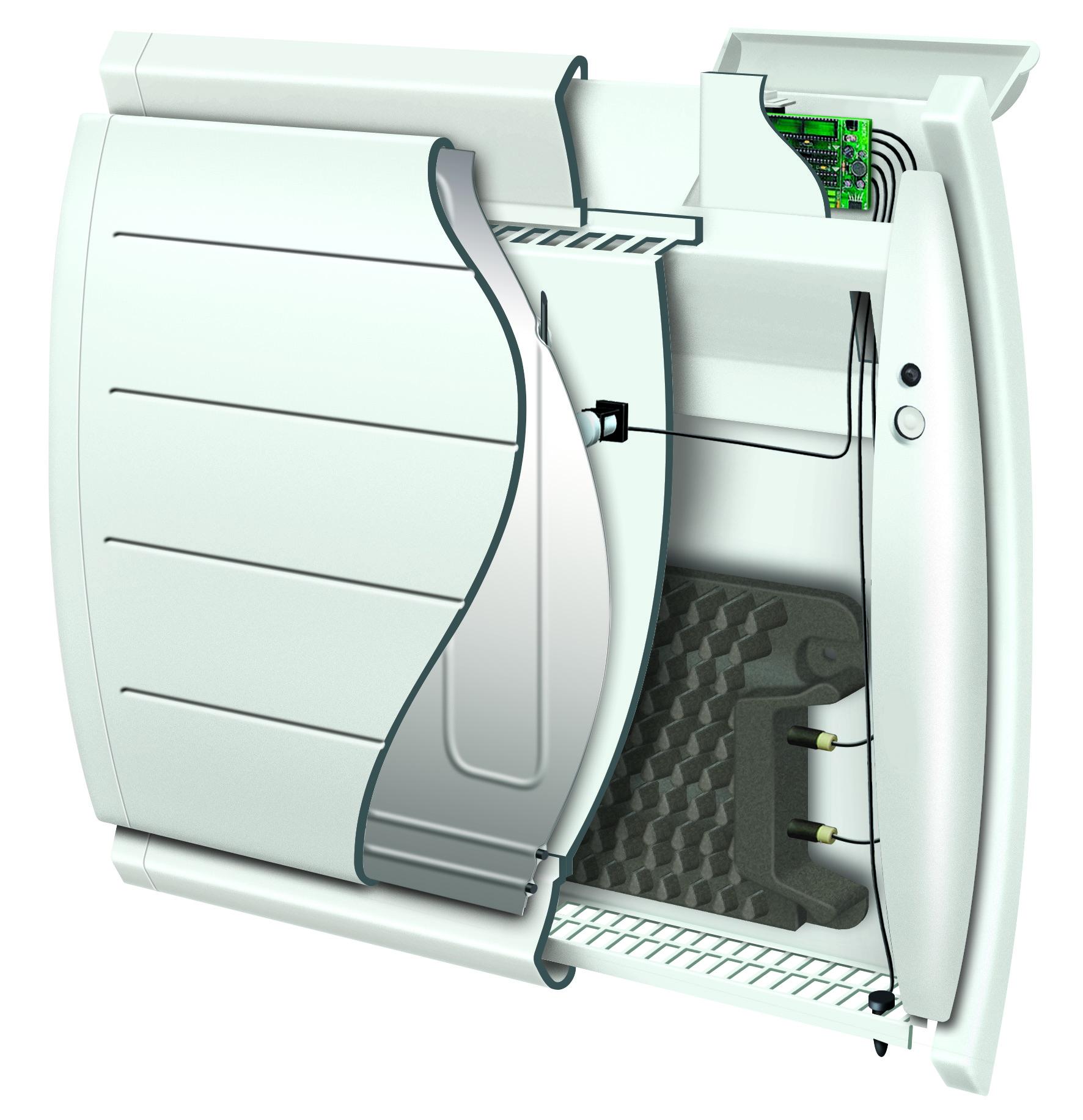 Retrouvez cette technologie fonte + façade chauffante sur les radiateurs Chaleur douce à inertie ALIPSIS sweetcontrol et MARADJA pilotage intelligent