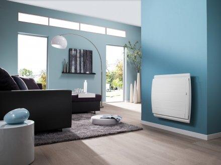 En cas d'absence, le radiateur Maradja Pilotage Intelligent, abaisse automatiquement la température pour générer jusqu'à 45% d'économies.